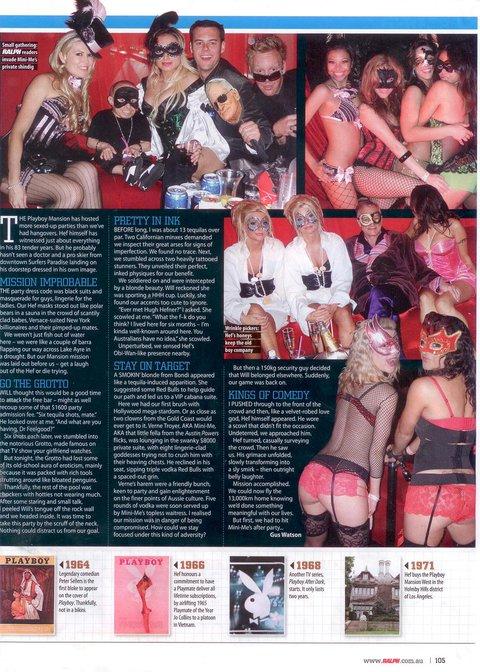 Ralph mag article on us at PB mansion pg 2