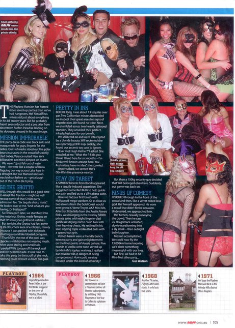 Ralph mag article on us at PB mansion pg 2