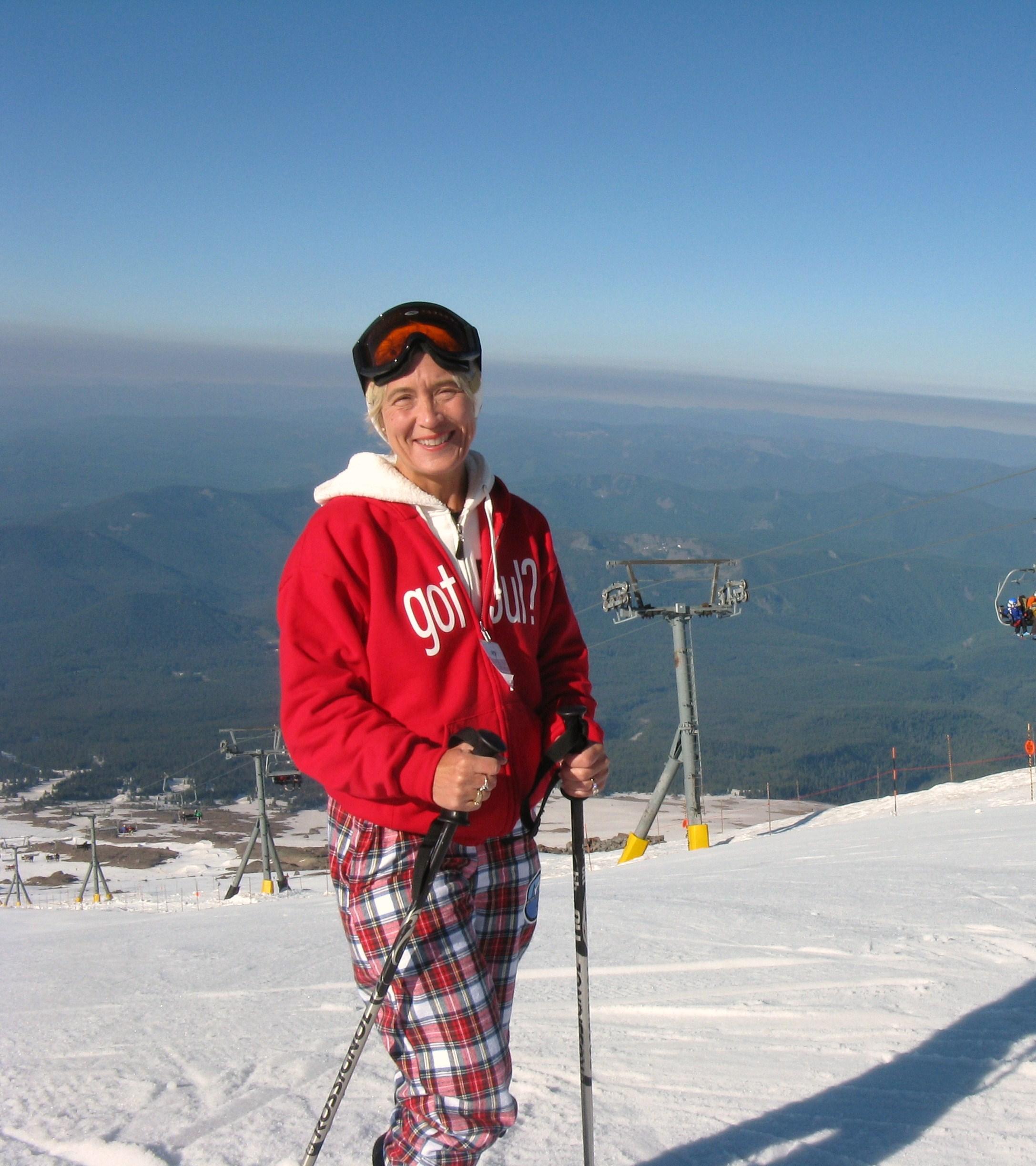 Me at Palmer Snowfield on Mt Hood