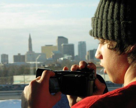 Me filming