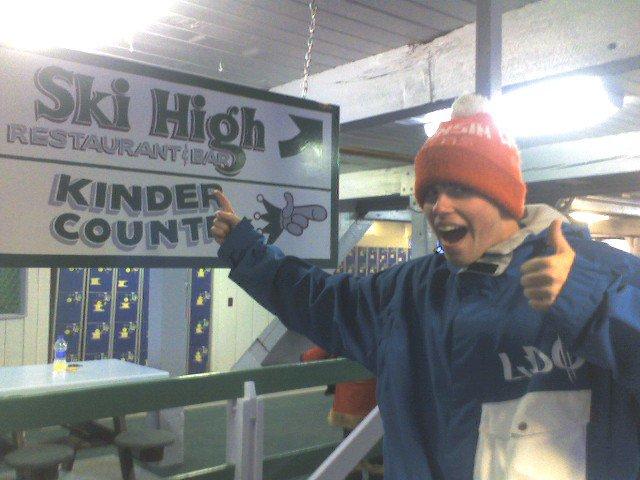 Ski HIGH!