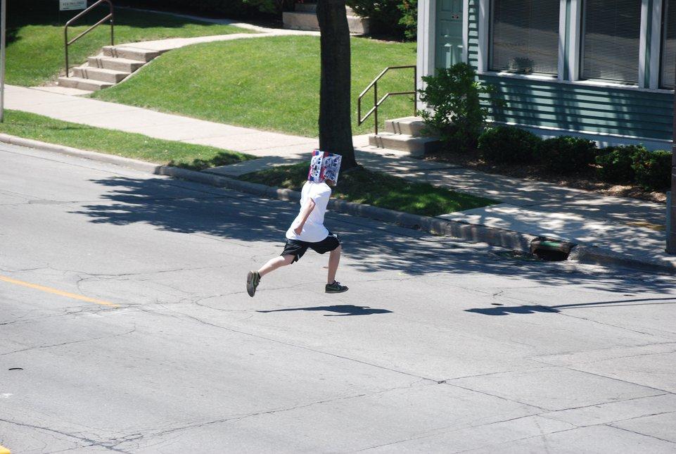 Running Around Town