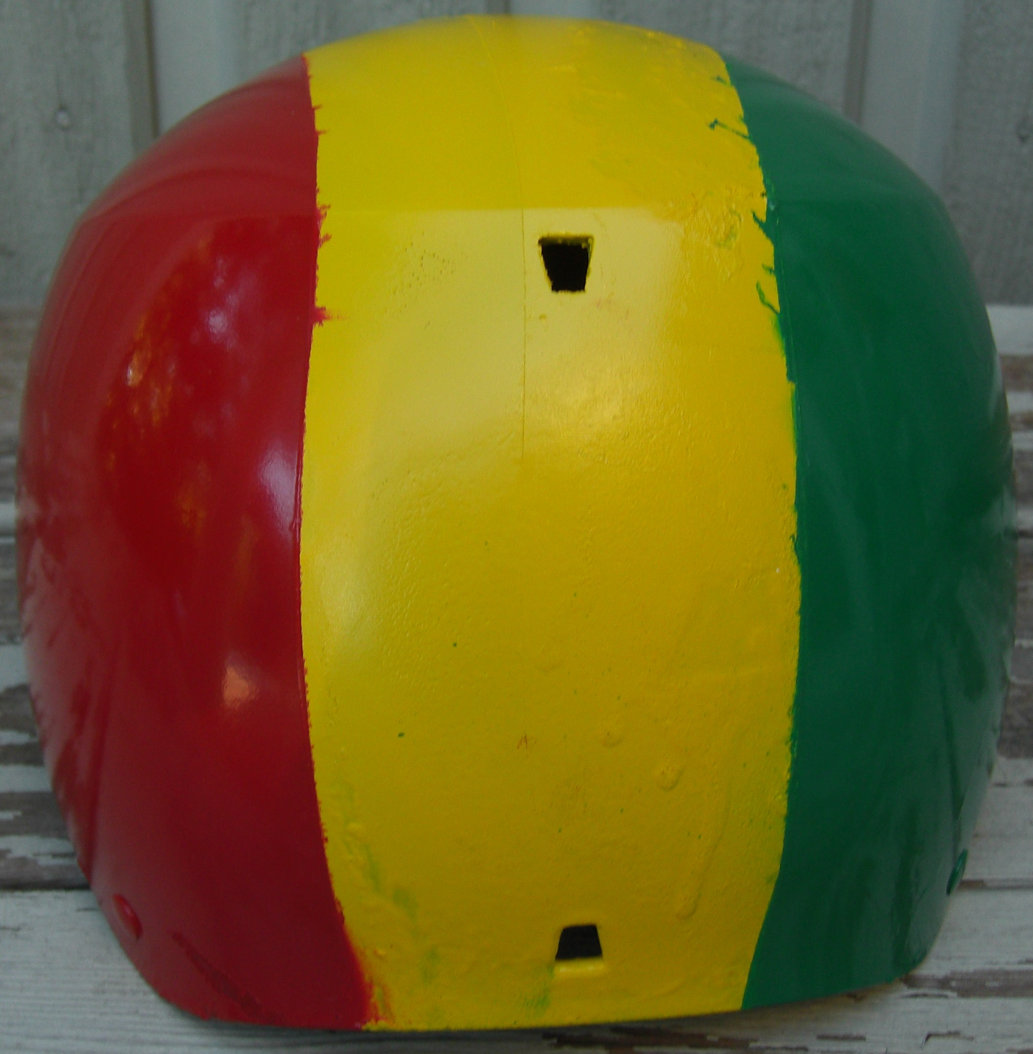 Custom 09 Dumonts   Bern Helmet - 5 of 5