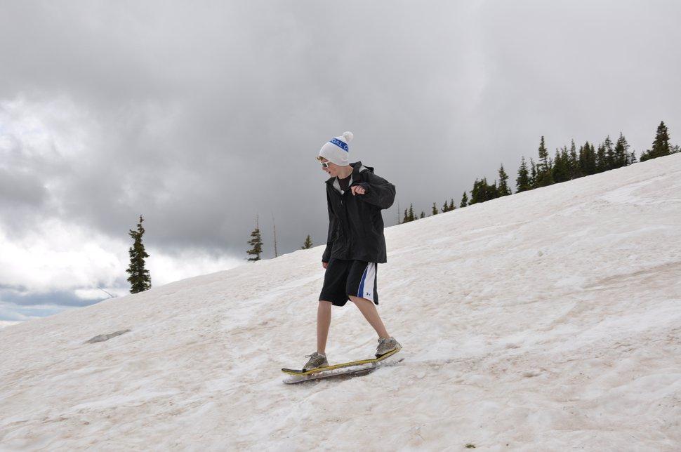 Snowskating
