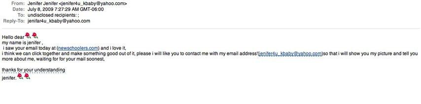 Ns fail mail