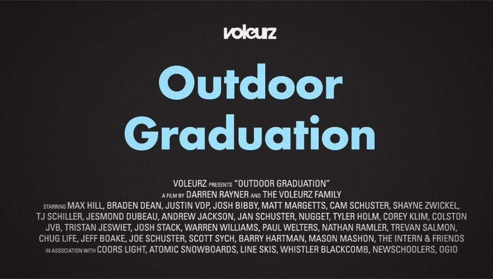 Voleurz Outdoor Graduation teaser