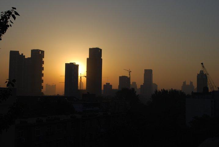 Tianjin china sunrise