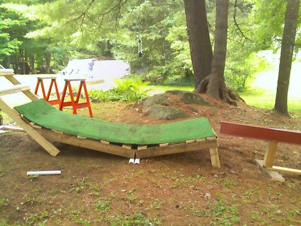 New ramp