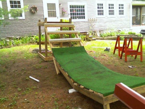 New ramp and rail.