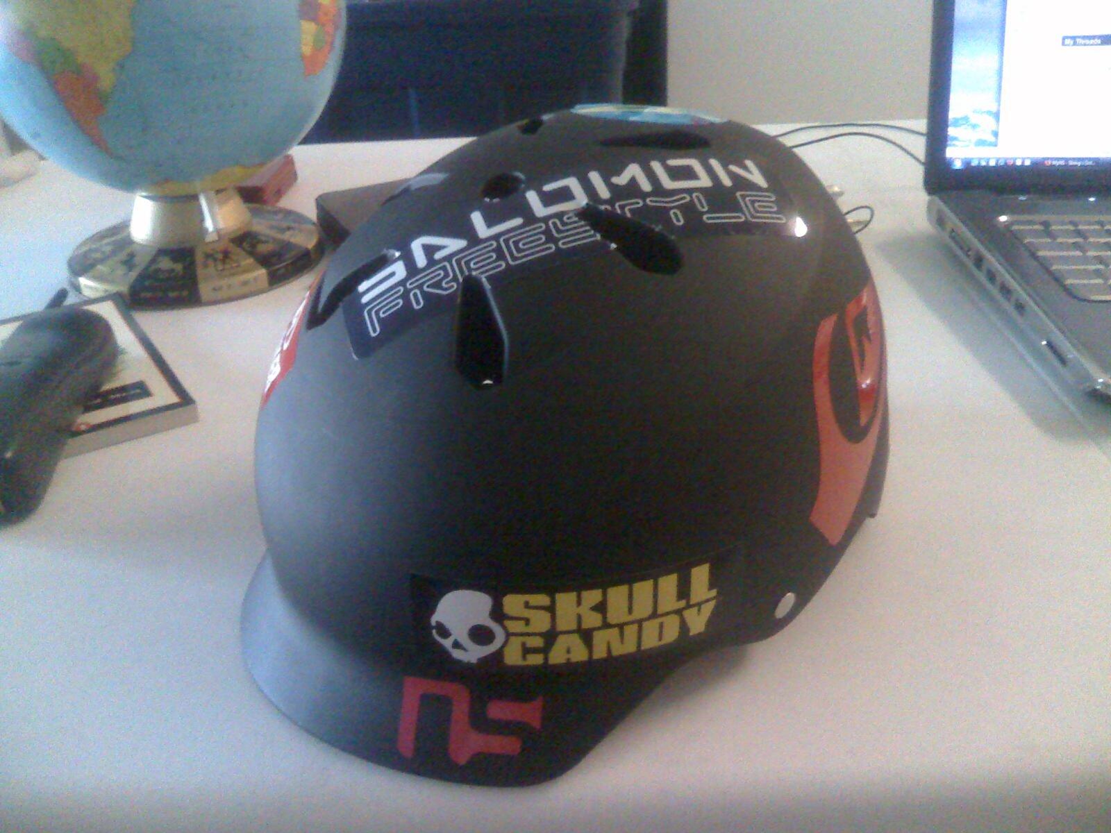 Helmet pic 1