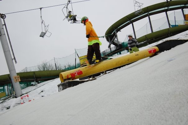 Steezing it out on the rail
