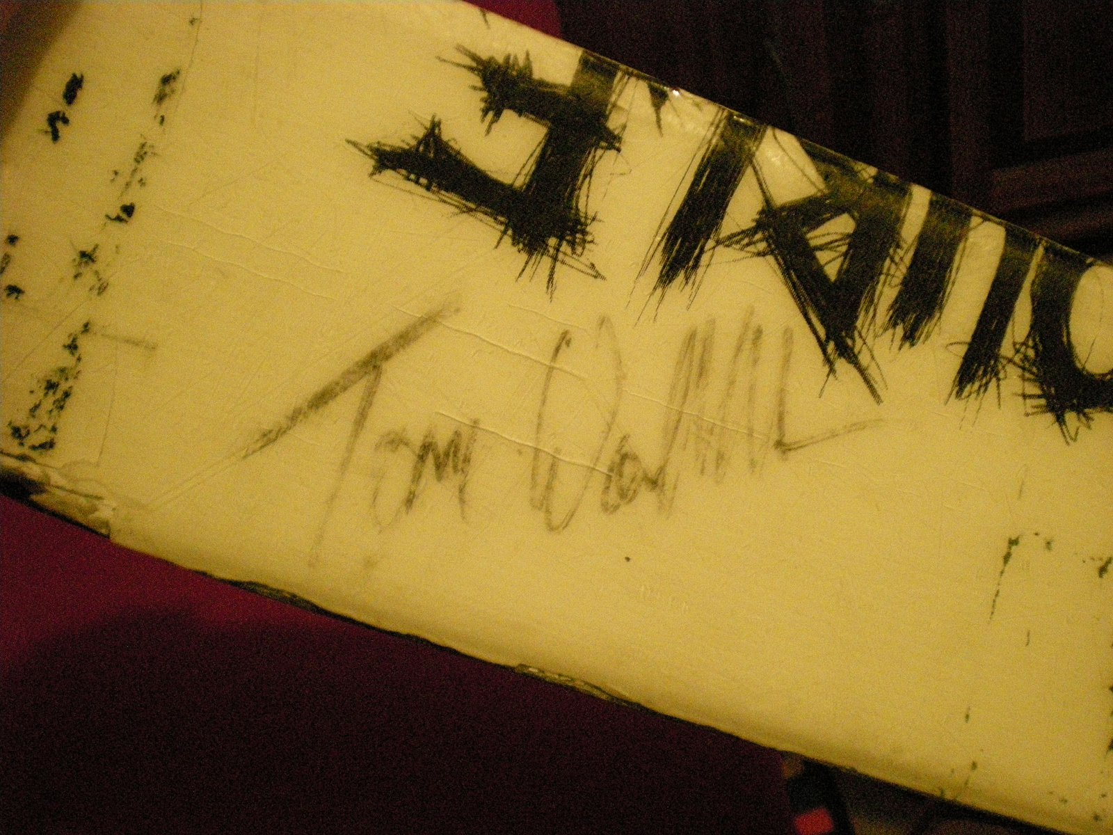 Signed by T-wall 2