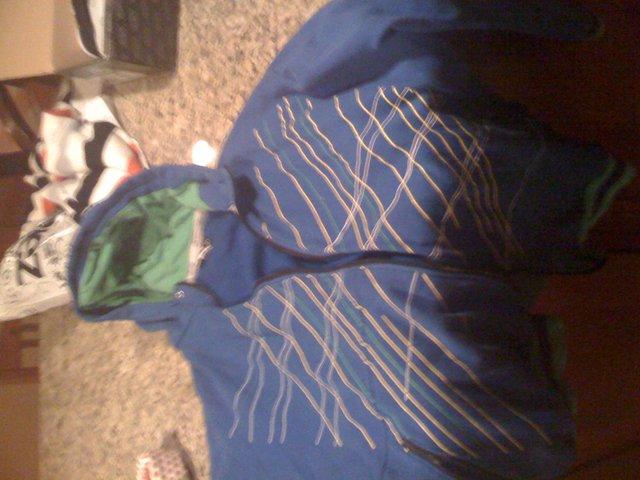Blue Broken Stripes