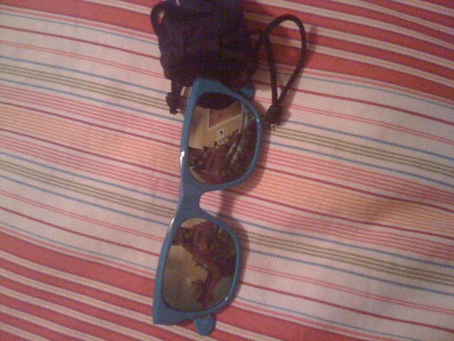 Blue EC Glasses
