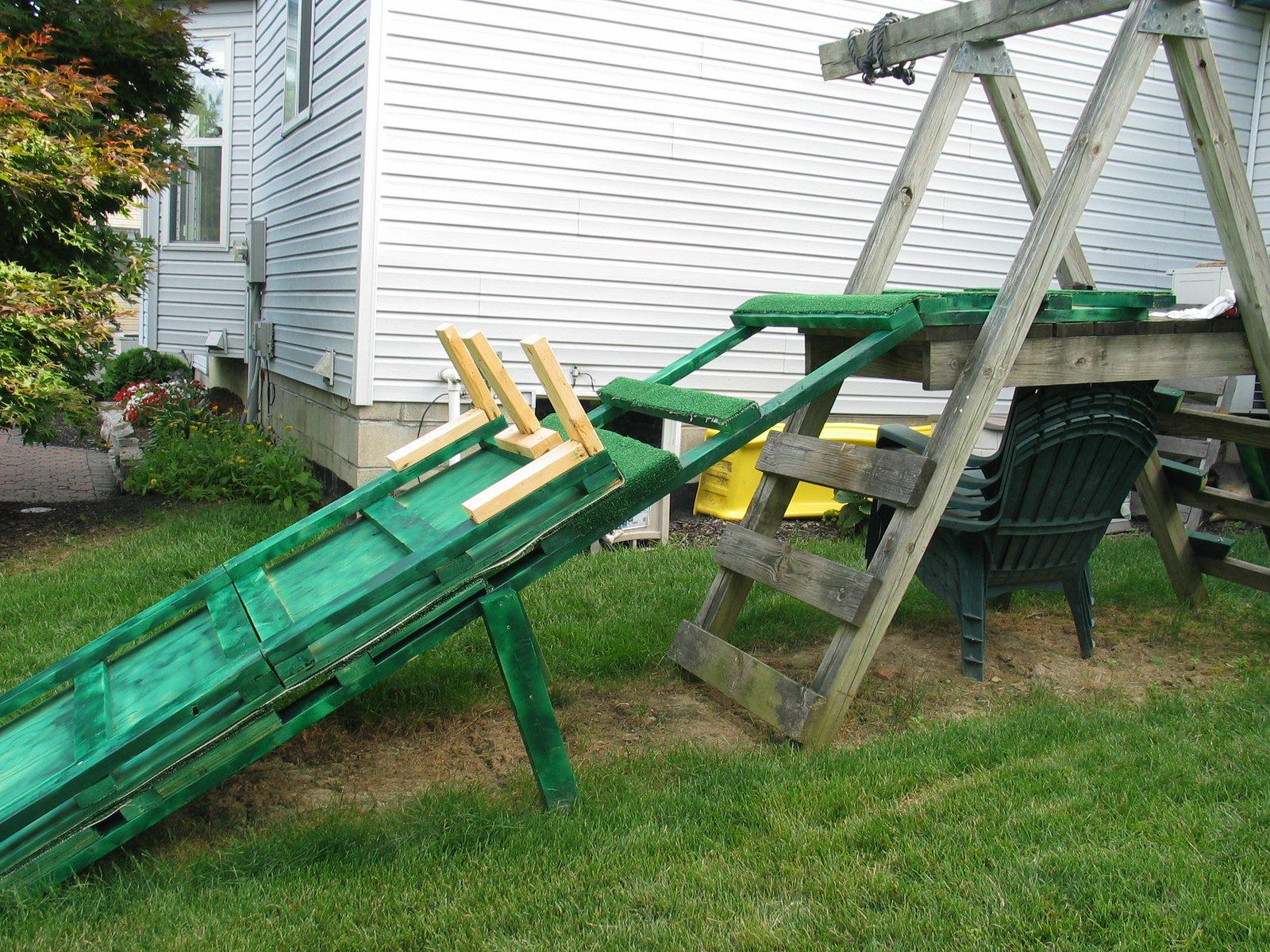 Backyard Setup 6