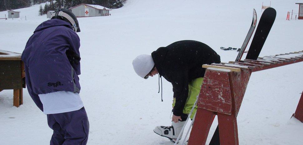 Me and Garrett At Hilltop