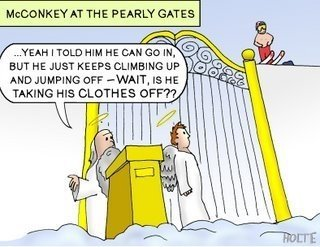 Shane at the Pearly Gates