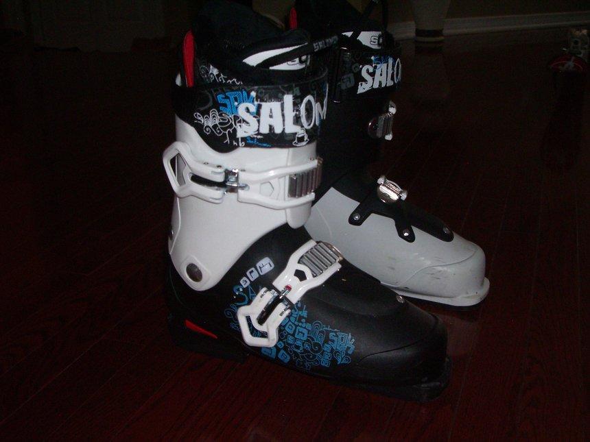 SPK Kaos ski boots