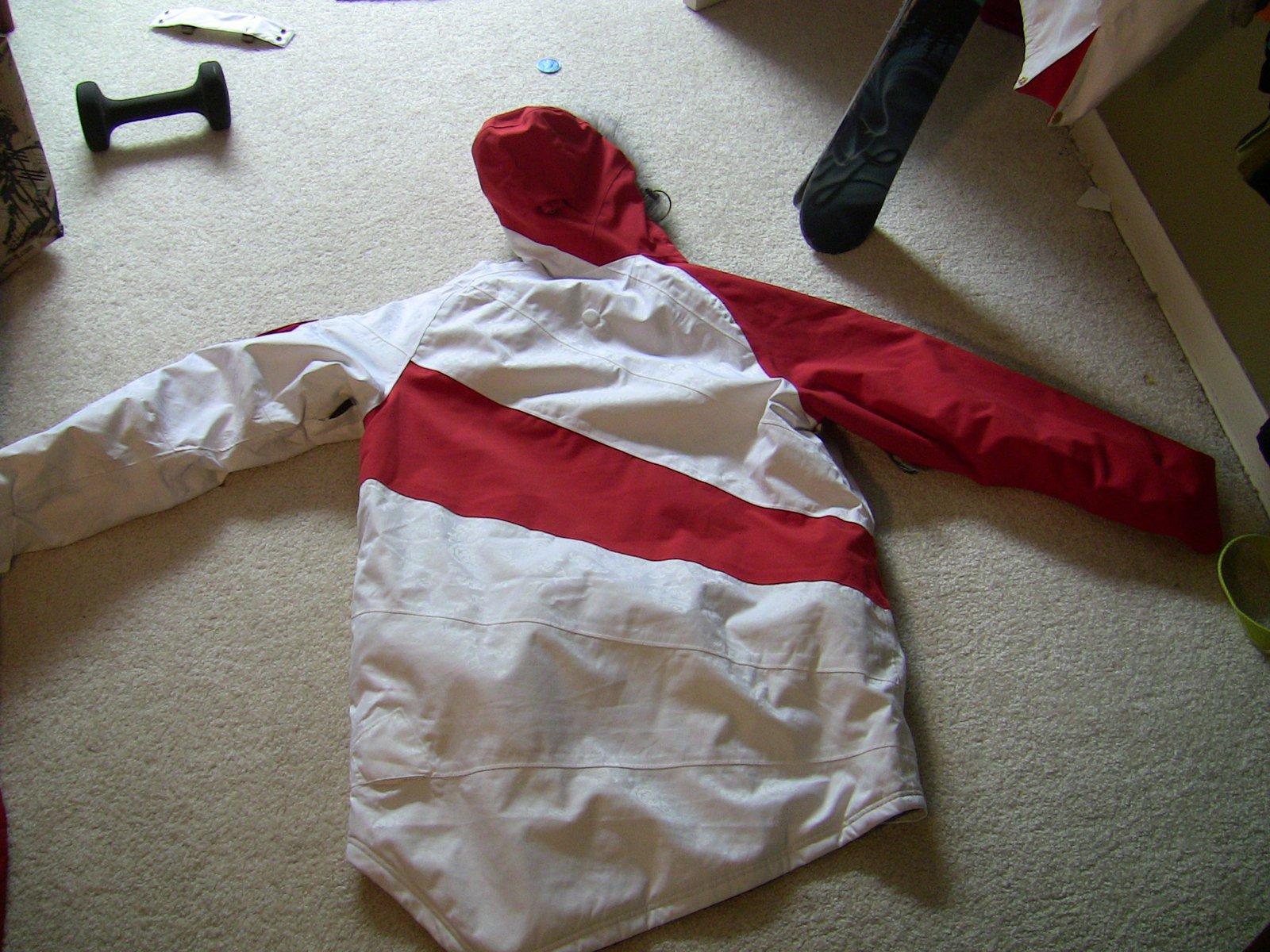 G jacket back
