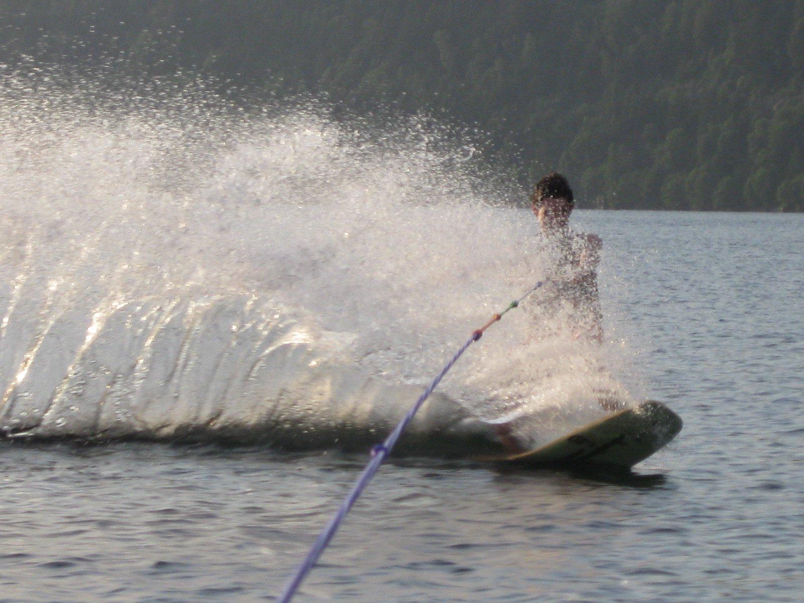 Summer fun-wakeskate