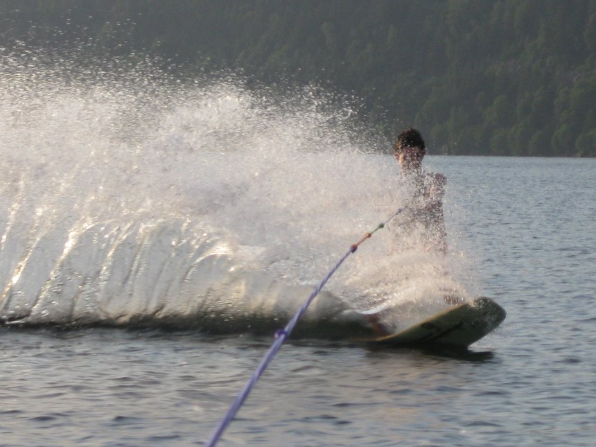 Summer fun-wakeskate
