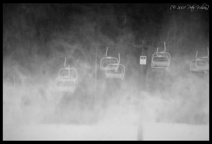 First Day of snowmaking....