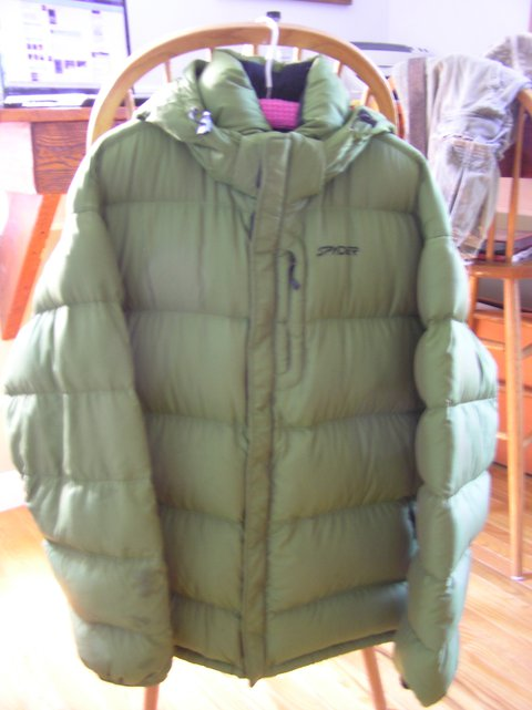 Coat for trade