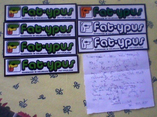 Fatypus Sase Stickers