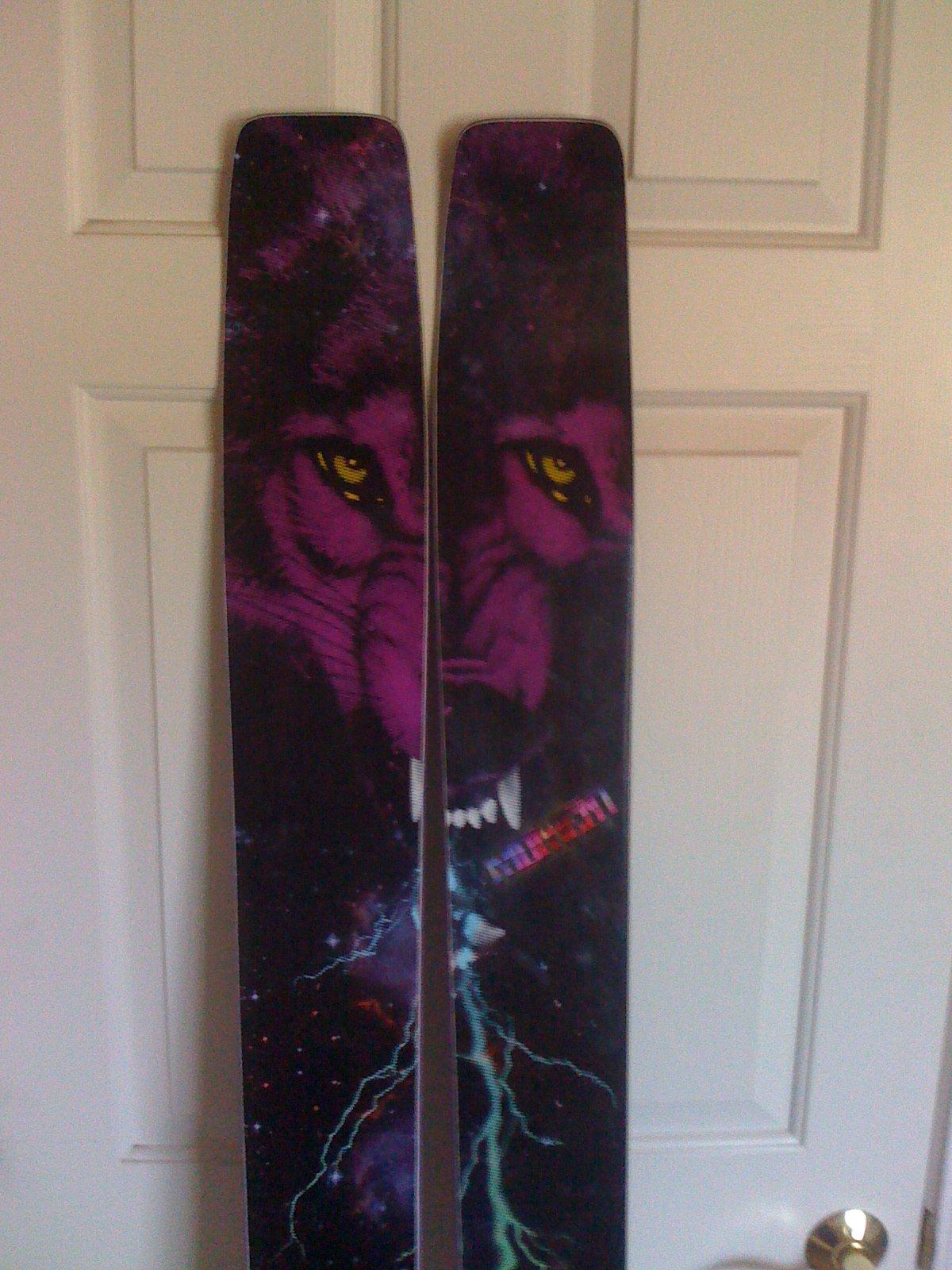 New Skis Finally