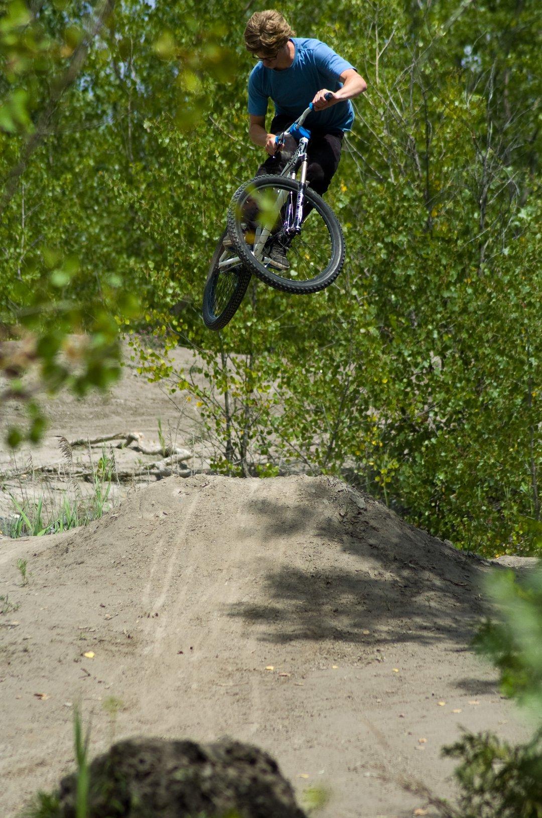 Biking at Skytop