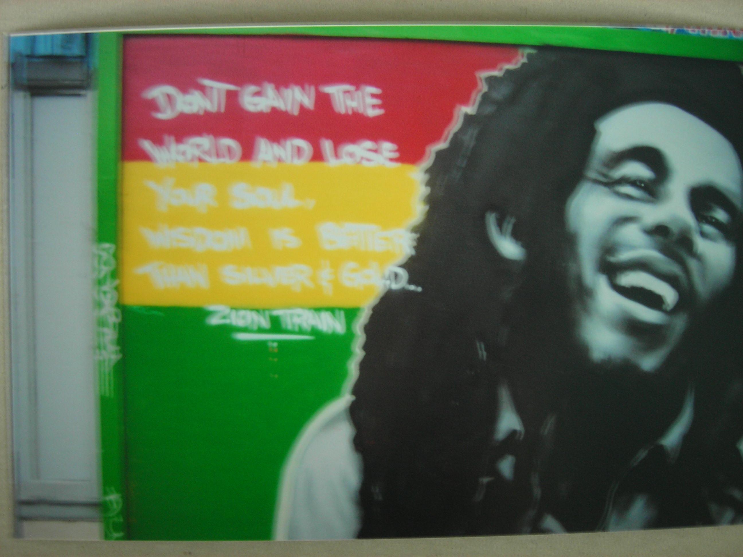Bob Marley Mural in San Fran.