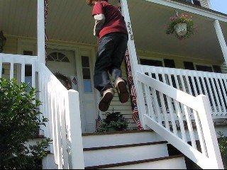 Stair sickness!