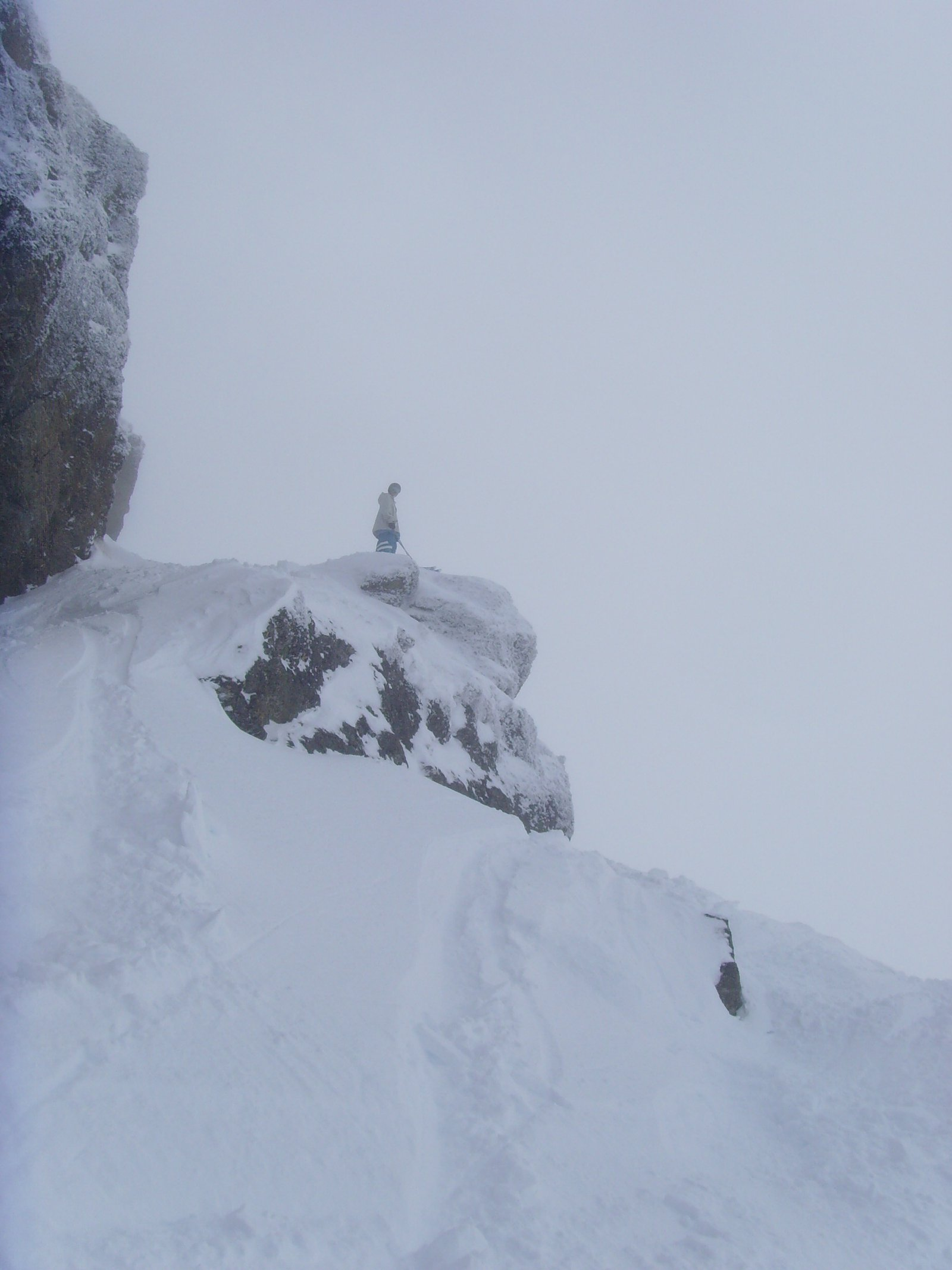 Cliff in Cardrona