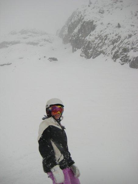 Nuns gulley, 2 alpes