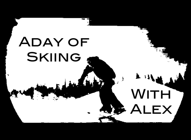 A Day of Skiing With Alex