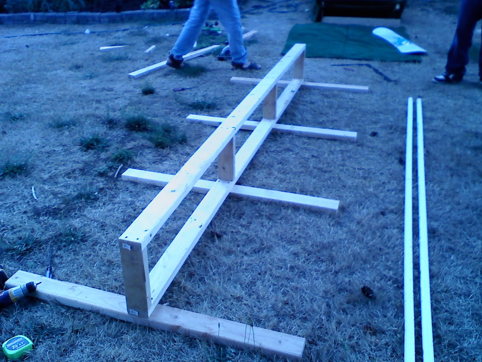 Build step 11 rail step 2