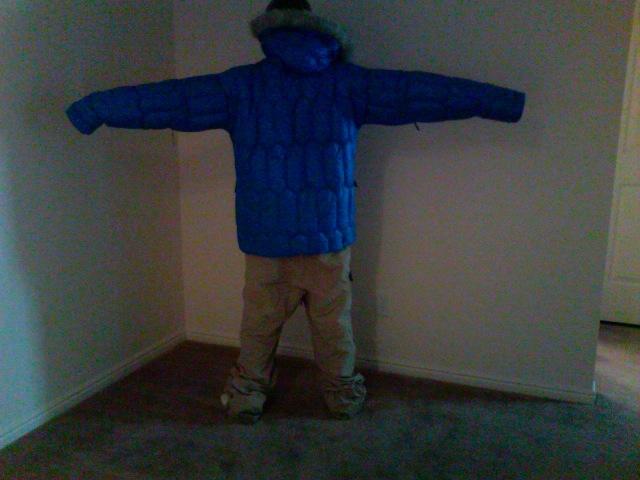 DNA jacket and pants back