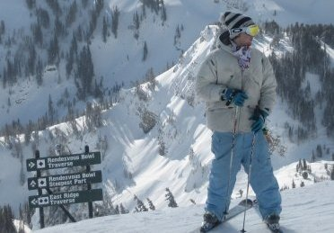Getting ready to rip Jackson Hole