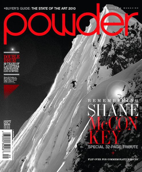 Powder Magazine - Sept 09 Cover