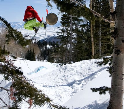Gong Hit in the Terrain Park