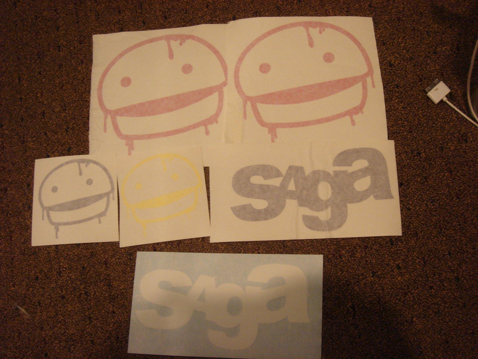 Saga for sale