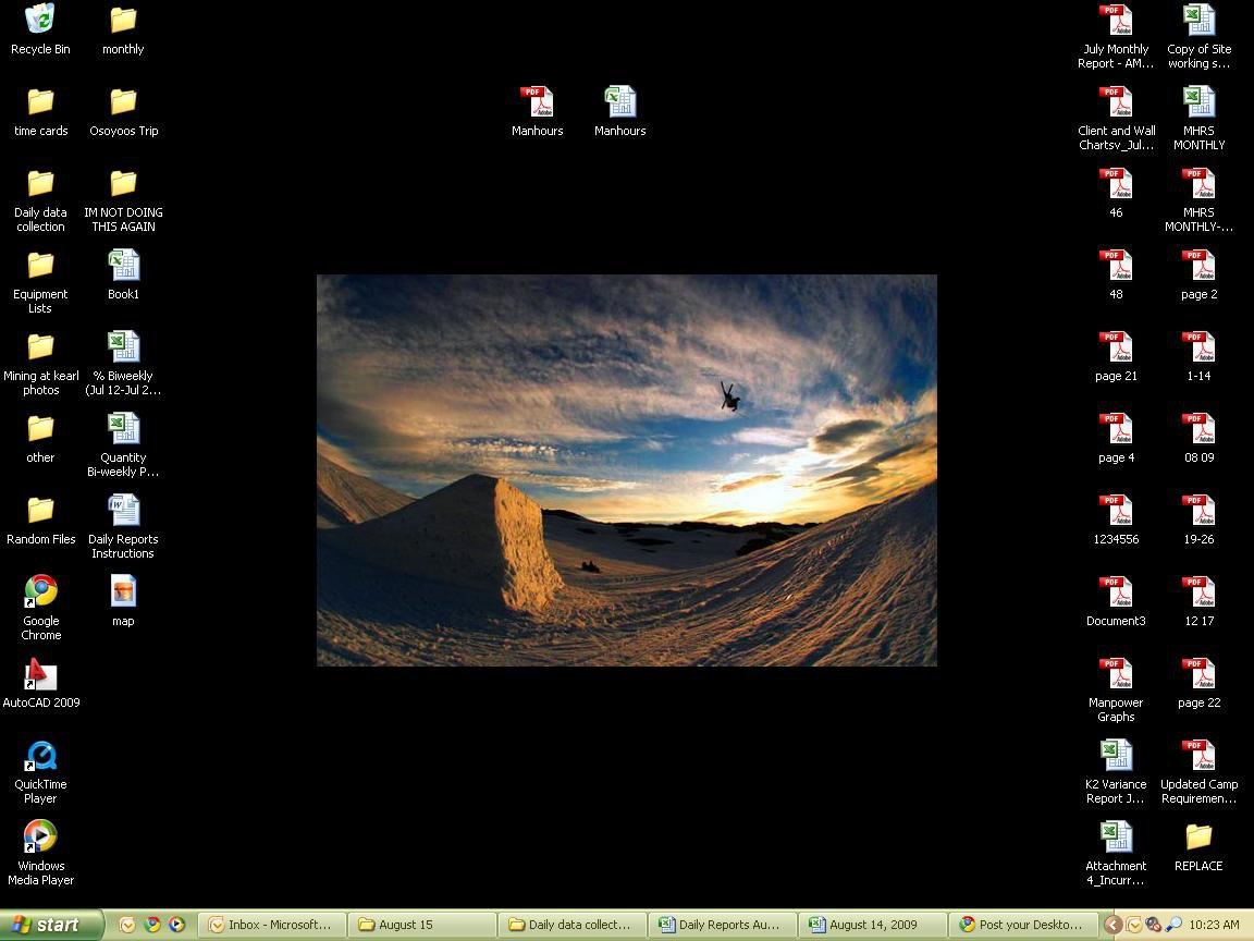 Work desktop