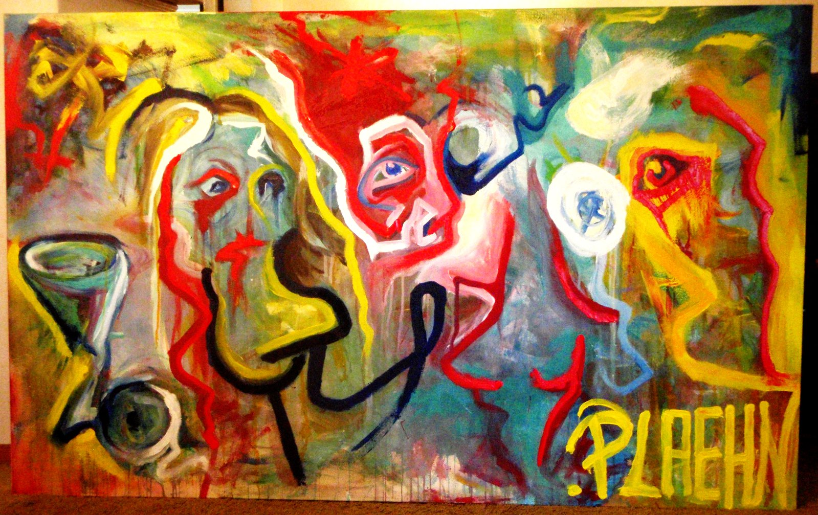Untitled big painting