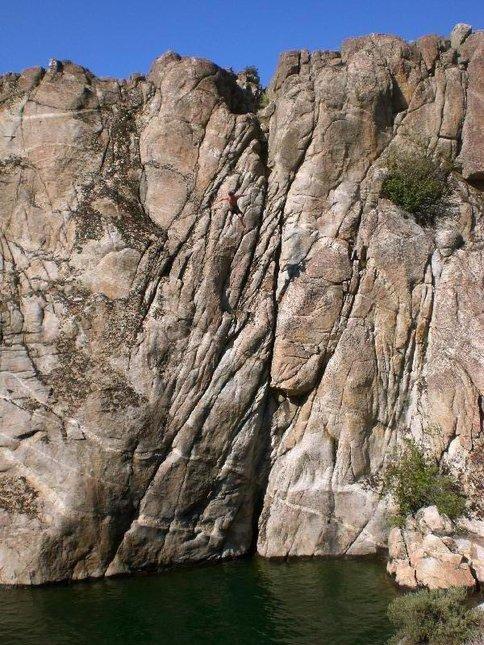 Cliff drop