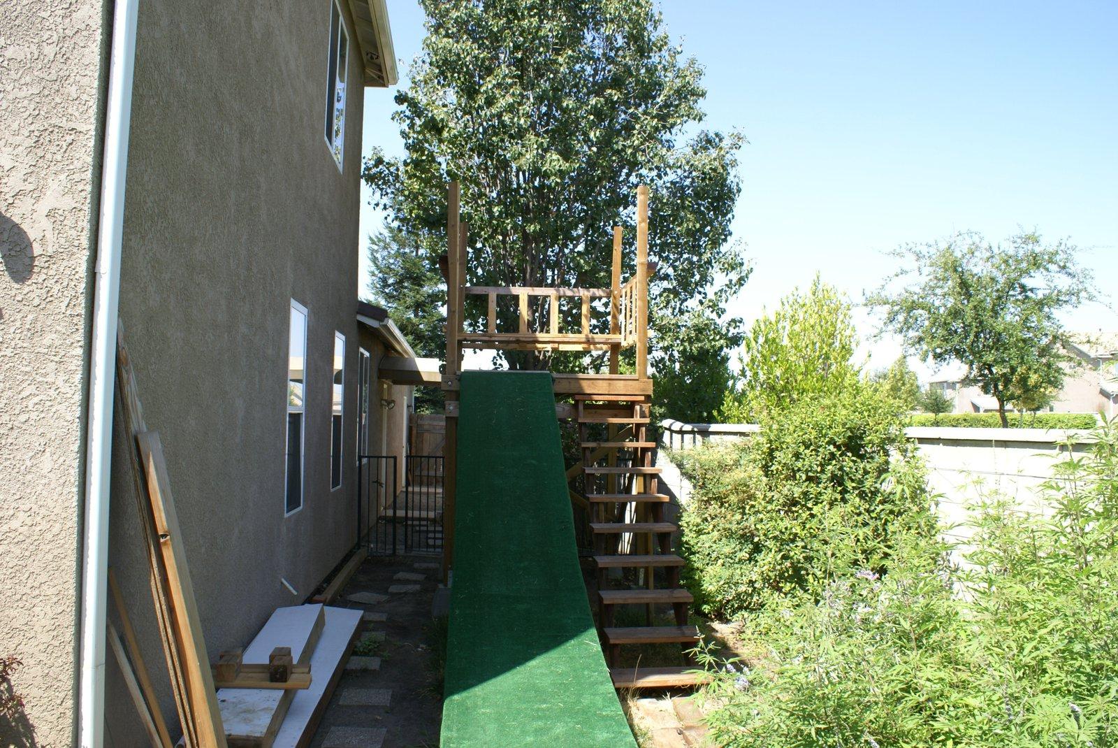 Backyard jib