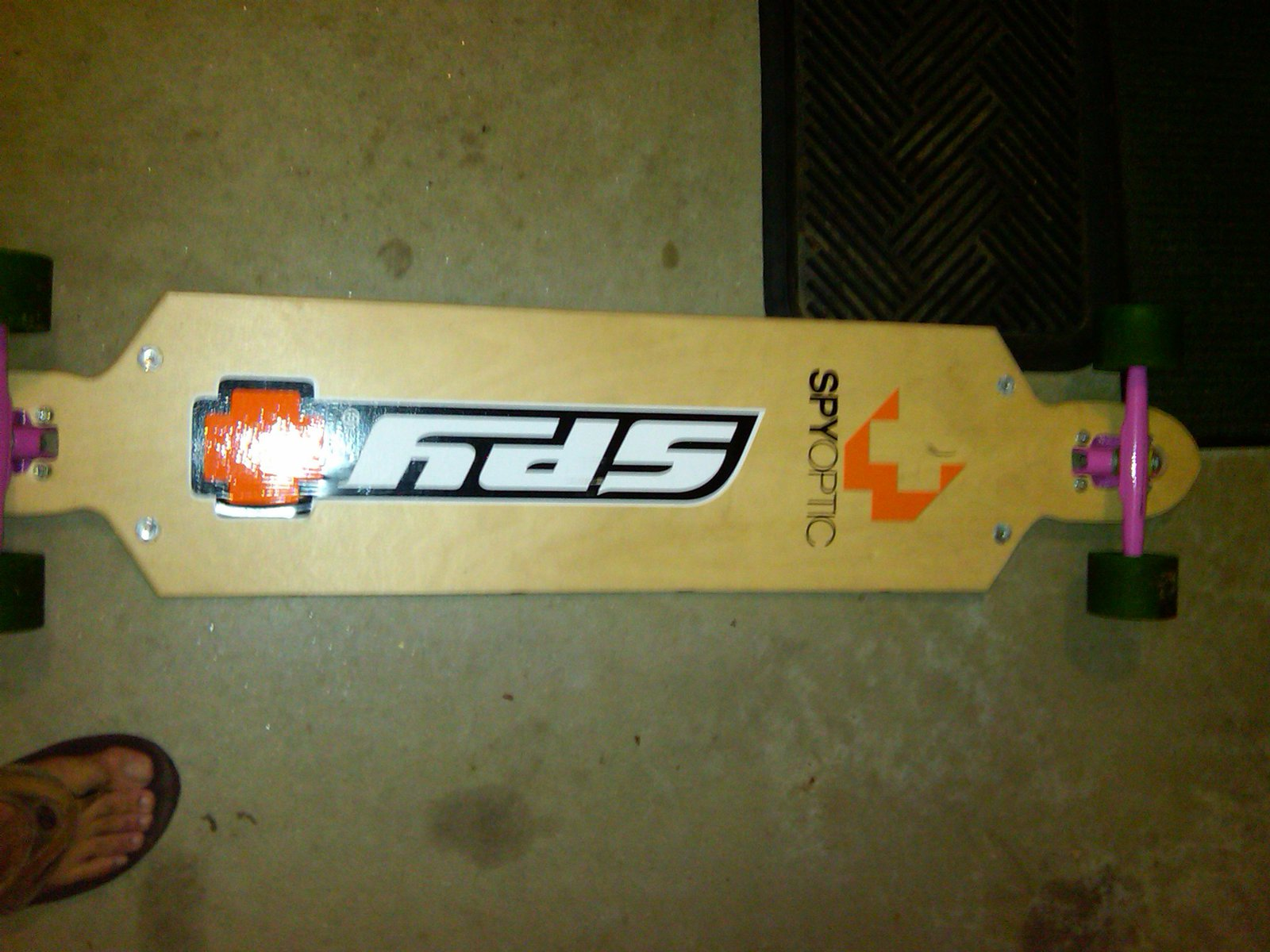 Kracked skulls Longboard, 44 in Scimitar