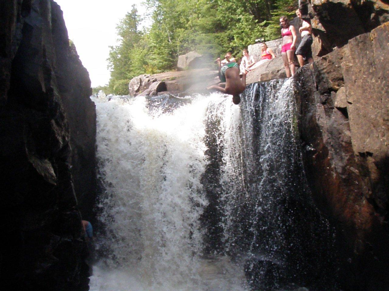 Gainer at mackenzie Falls