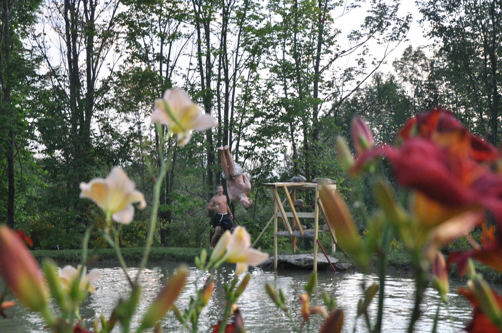 New diving platform thing.