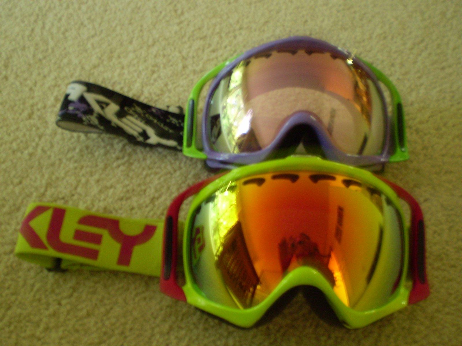09 goggle setup
