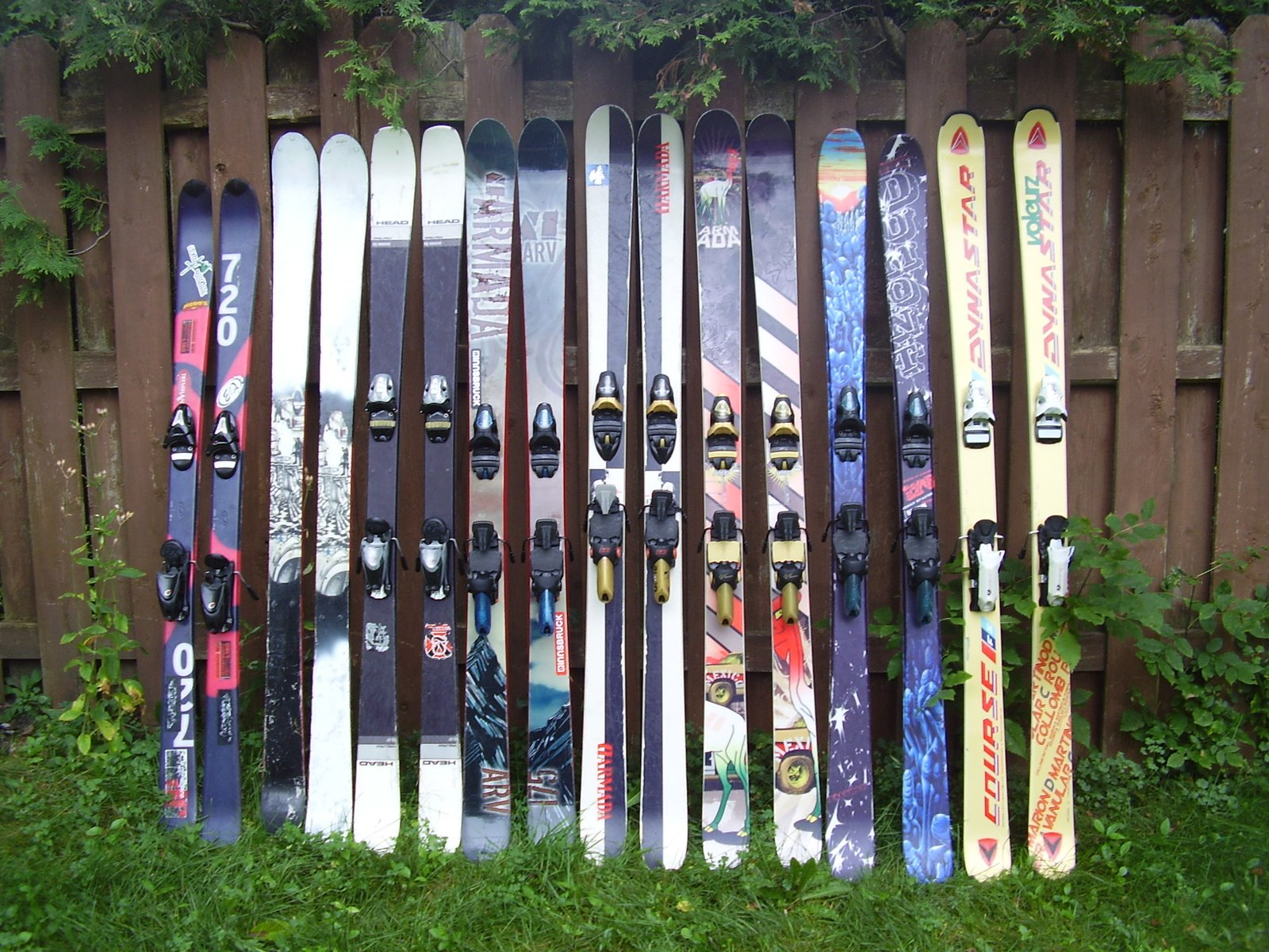 I have too many pairs of skis